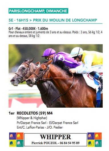 Le compteur de victoires : 2781, Recoletos, 09/09/18 Recole18