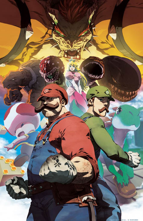 The Epic Massive Video Game World Crossover RPG! Mario-10