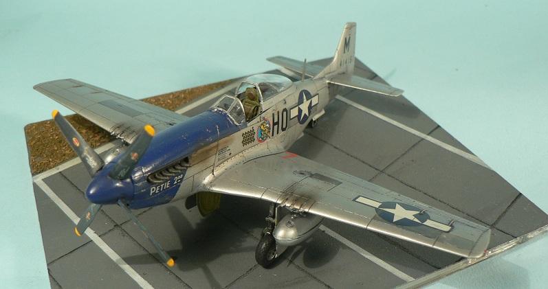 [Tamiya] P-51 D Mustang 7-110