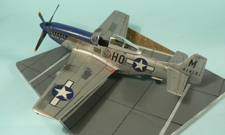 [Tamiya] P-51 D Mustang 7-210