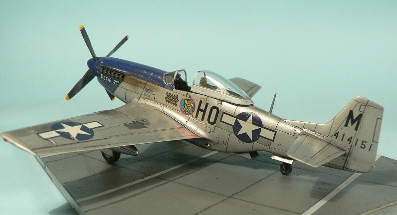 [Tamiya] P-51 D Mustang 7-610