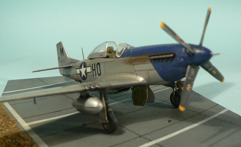 [Tamiya] P-51 D Mustang 7-810