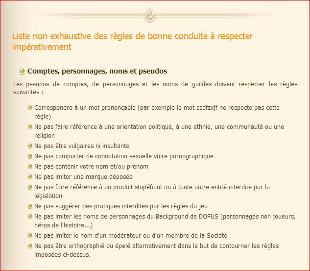 Les règles et les sanctions sur Dofus. (et comment signaler une infraction) Ragle_11