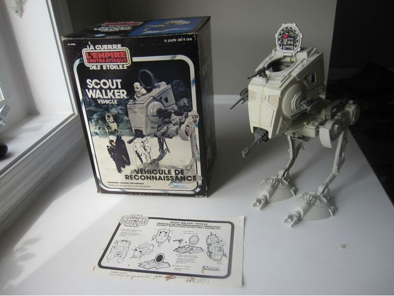What to do now with the Canadian Boxed AT-ST with instruction sheet???? At-st10