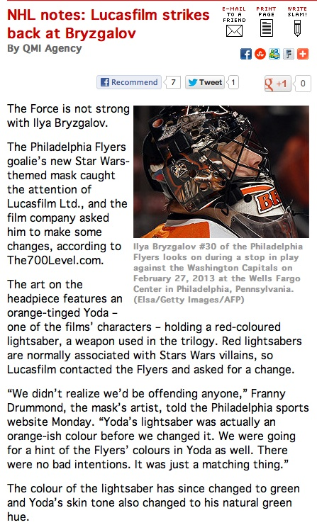 Hockey Players can be Star Wars geeks too! Pictur14