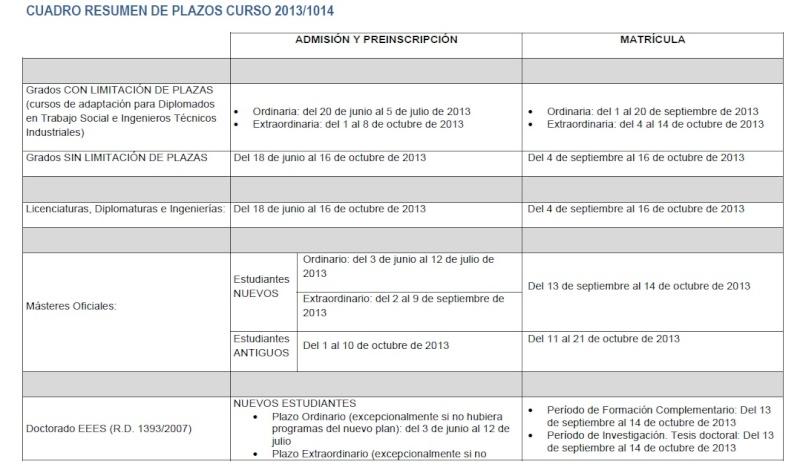 Calendario académico curso 2013/2014 Calend10