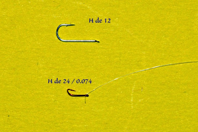 Montage hameçon de 24 / 7.4% Montag15