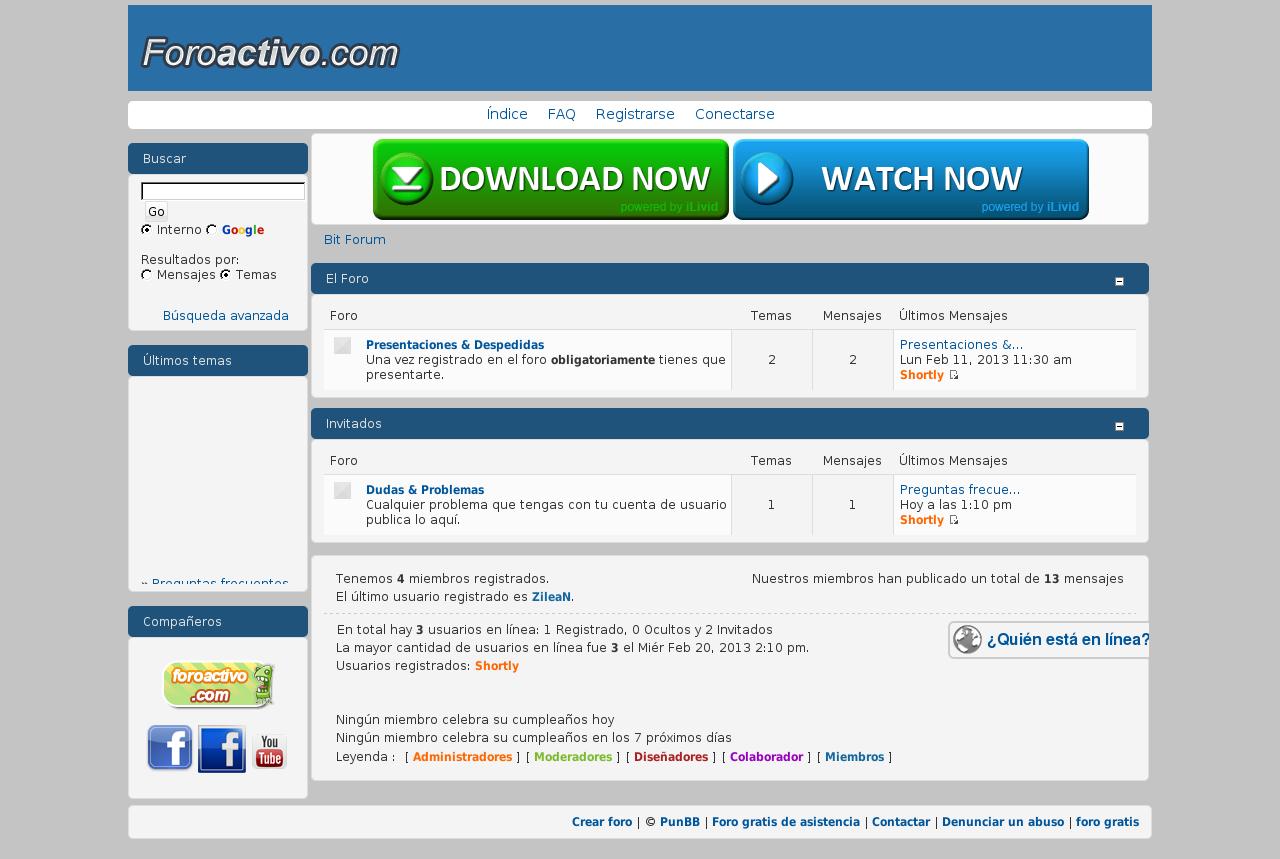 Bitforum - Ayuda & Soporte & Diseño gráfico. 45011010