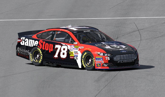 NASCAR Paint Gamest12