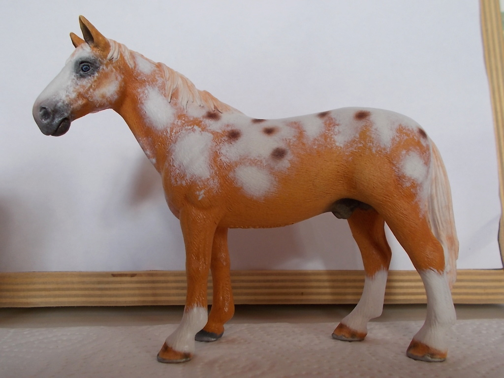 I started with repainting - Schleich horses - Page 4 Hanno_11