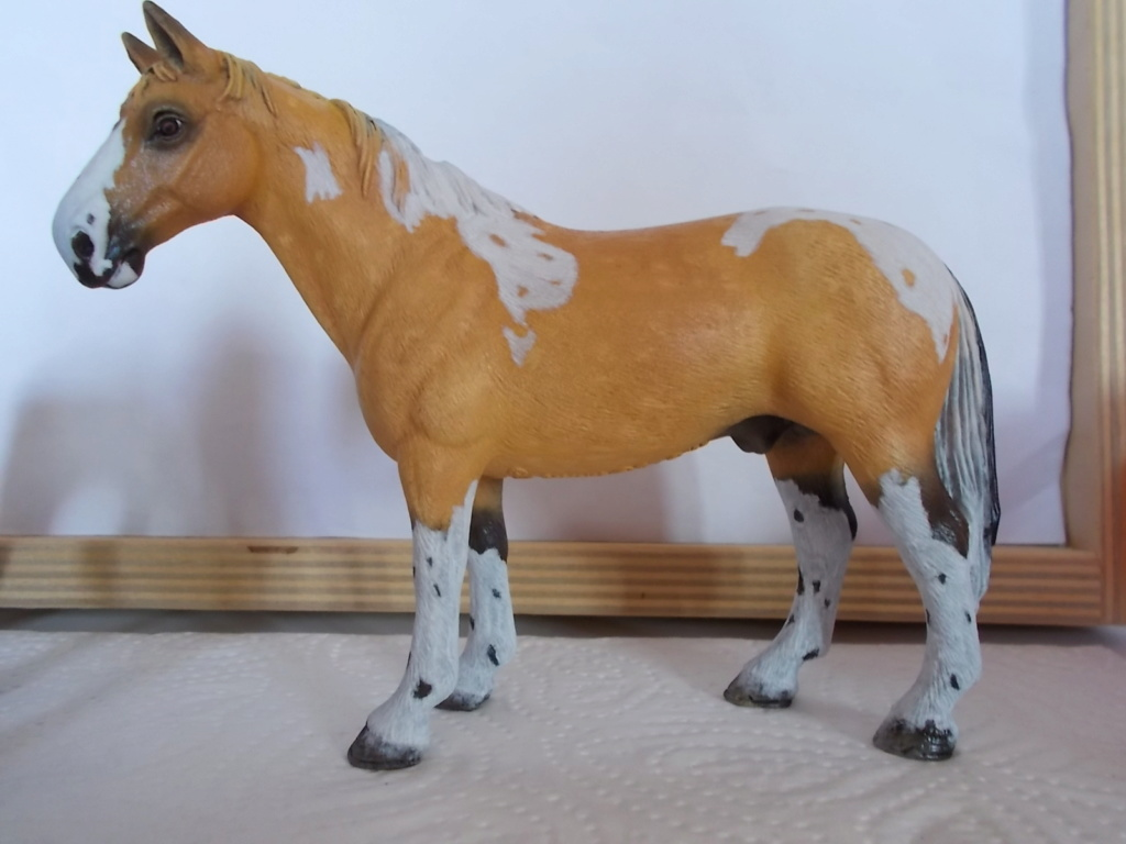 I started with repainting - Schleich horses - Page 7 Hanno_14