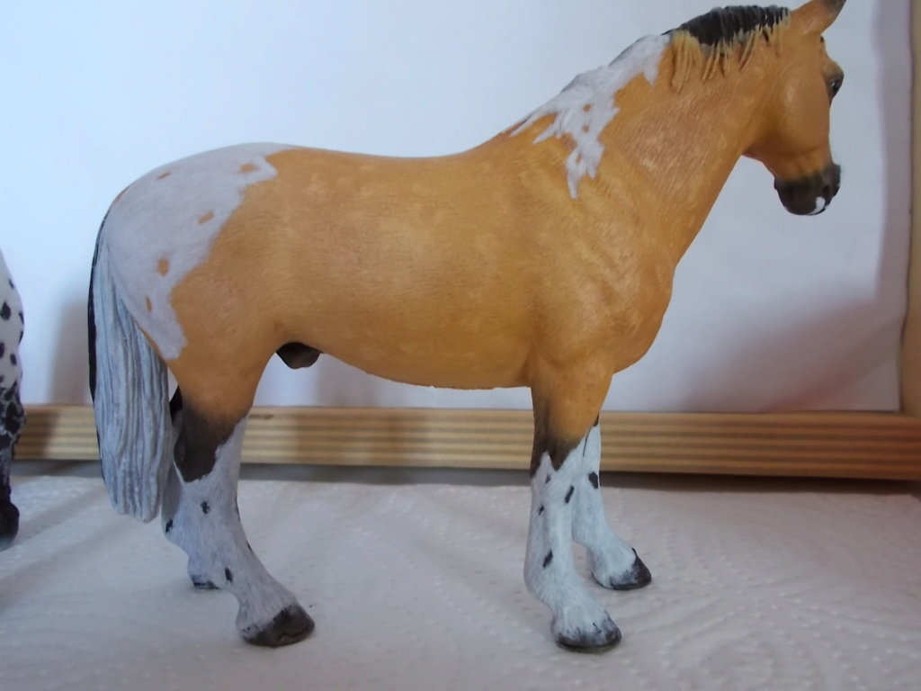 I started with repainting - Schleich horses - Page 4 Hanno_15