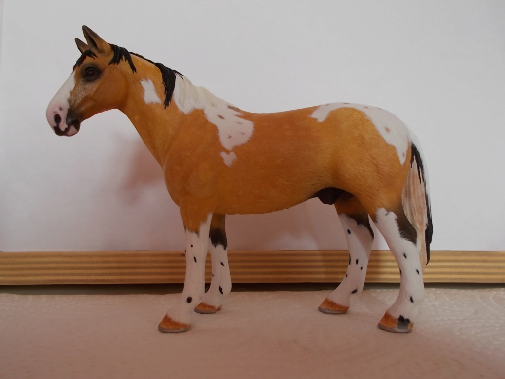 I started with repainting - Schleich horses - Page 4 Hanno_20