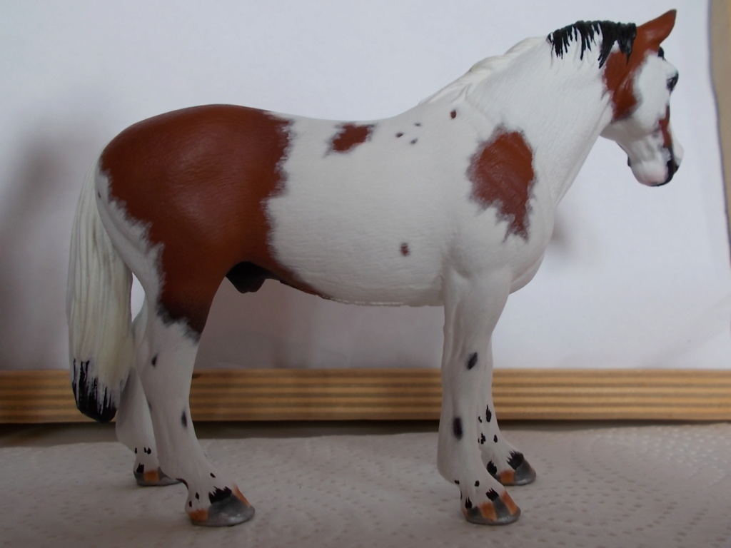 I started with repainting - Schleich horses - Page 4 Hanno_30