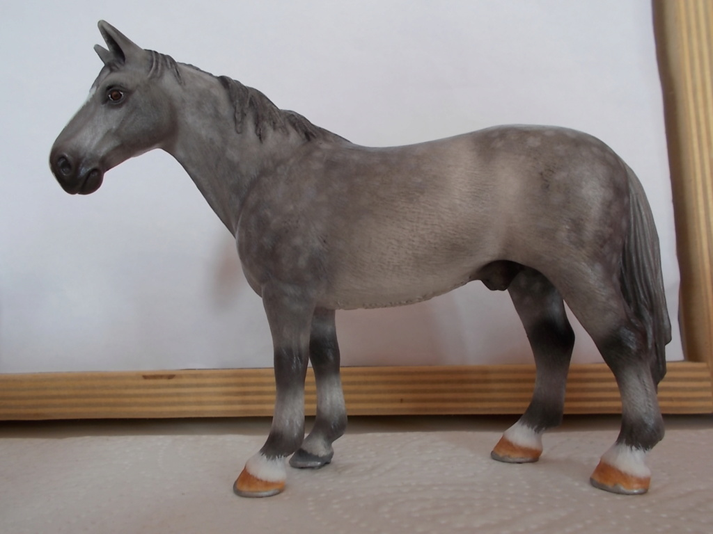 I started with repainting - Schleich horses - Page 4 Hannov16