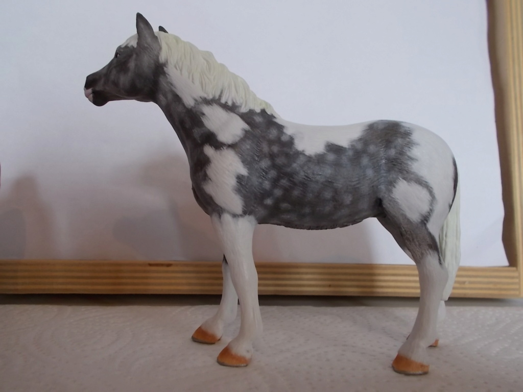 I started with repainting - Schleich horses - Page 4 Knabst14
