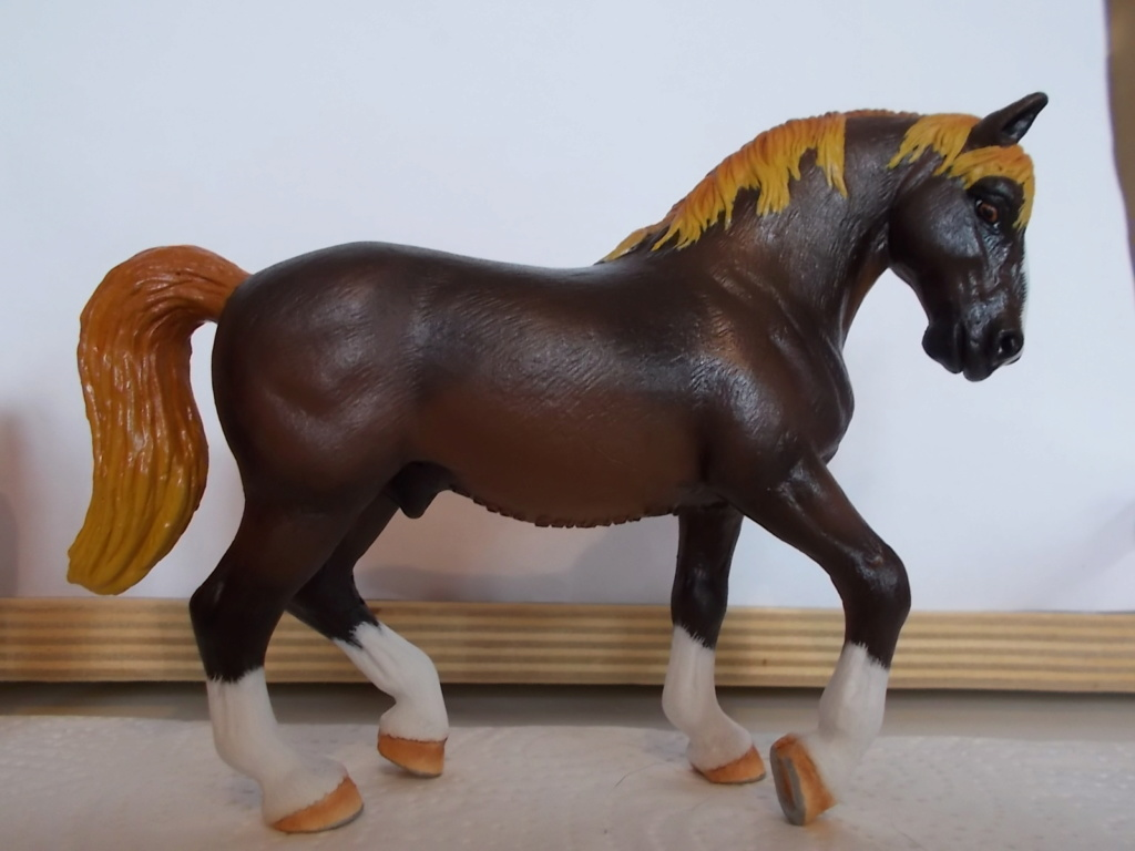 I started with repainting - Schleich horses - Page 7 Lipizz15