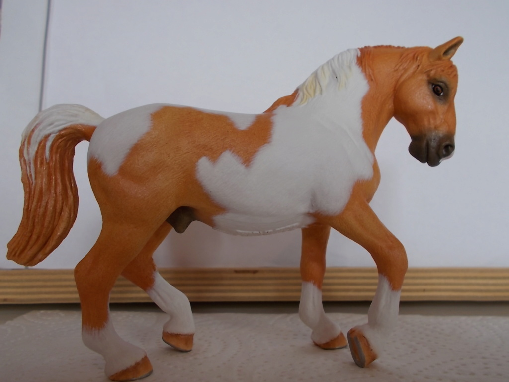 I started with repainting - Schleich horses - Page 4 Lipizz18