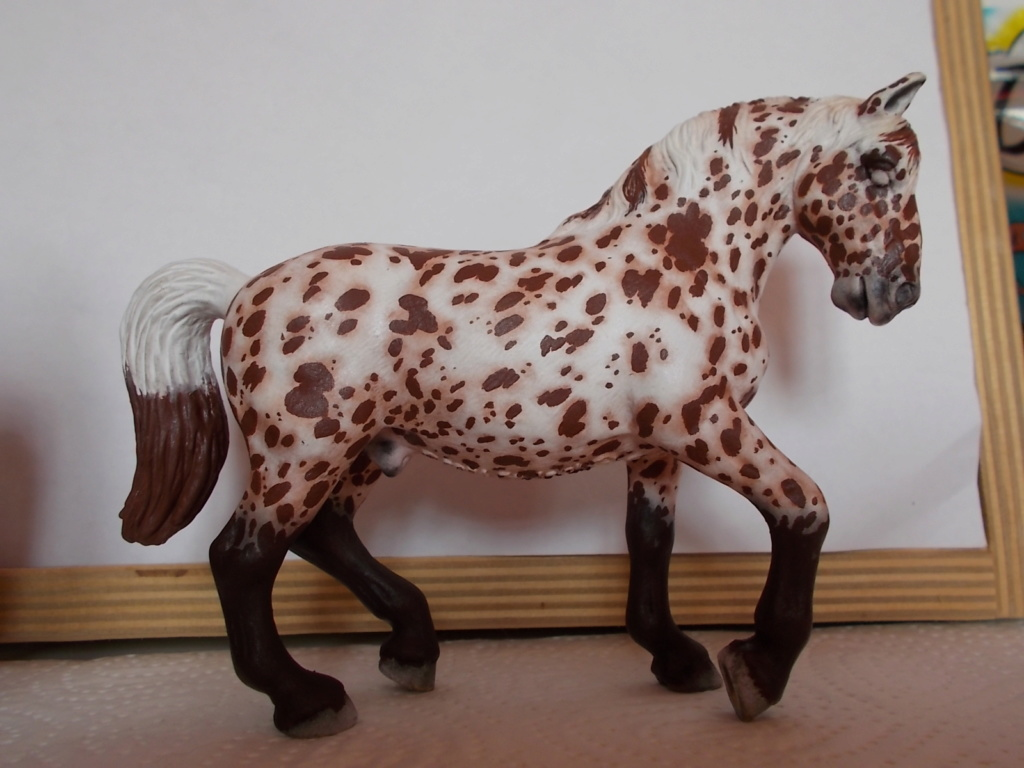 I started with repainting - Schleich horses - Page 8 Lipizz23