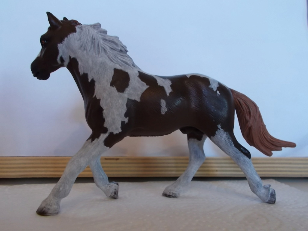 I started with repainting - Schleich horses - Page 7 Pinto_11