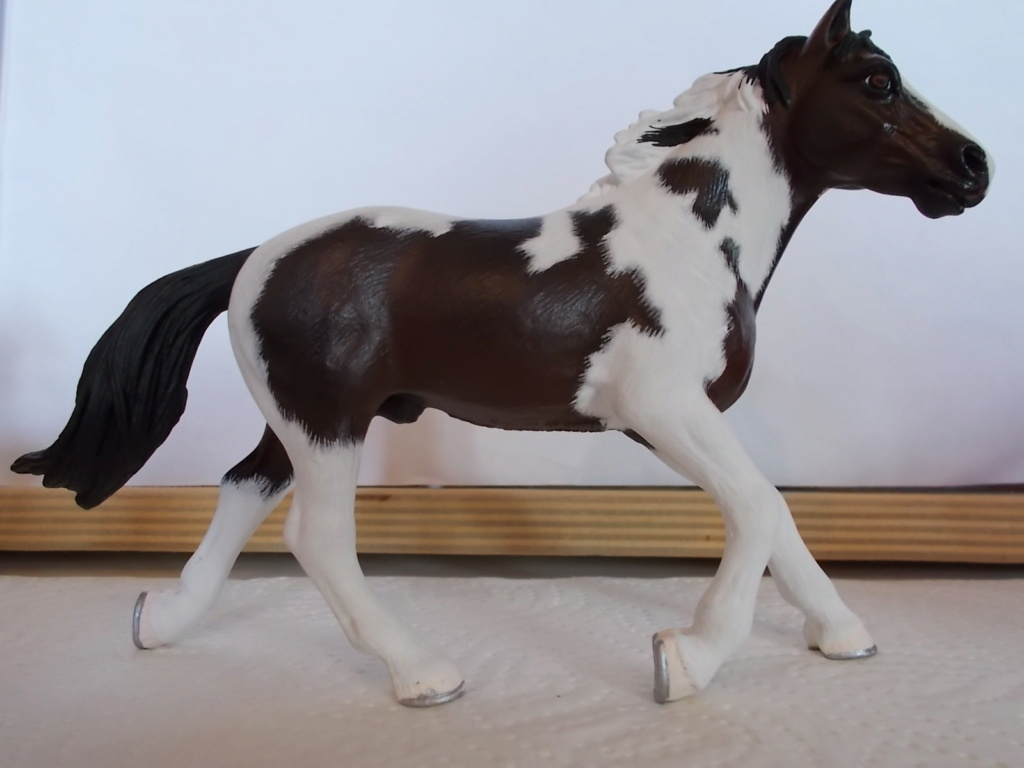 I started with repainting - Schleich horses - Page 4 Pinto_12