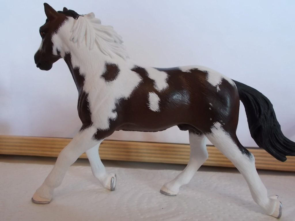 I started with repainting - Schleich horses - Page 4 Pinto_13