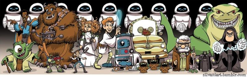 Images insolites et amusantes sur le thème de Pixar/Disney - Page 36 Pixar-10