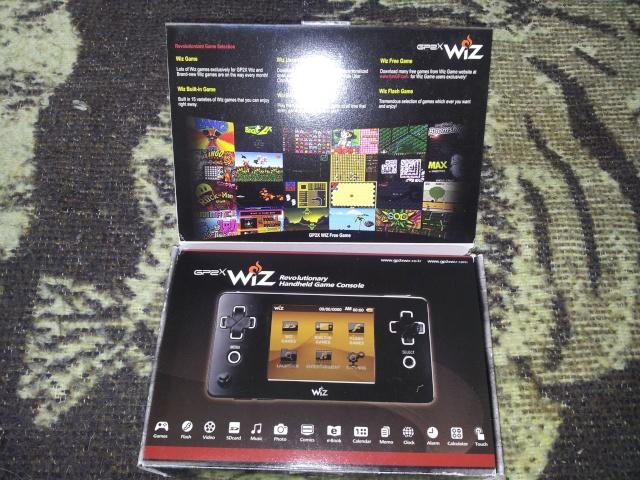Déballage GP2X wiz 20130411