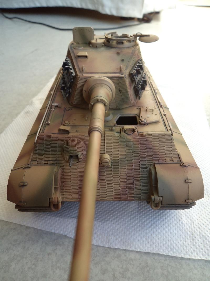 Me revoila avec un Tigre II (Dragon 1/35) - Page 2 Dsc01324