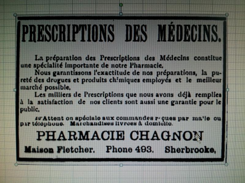Pharmacie Chagnon Sherbrooke 00710