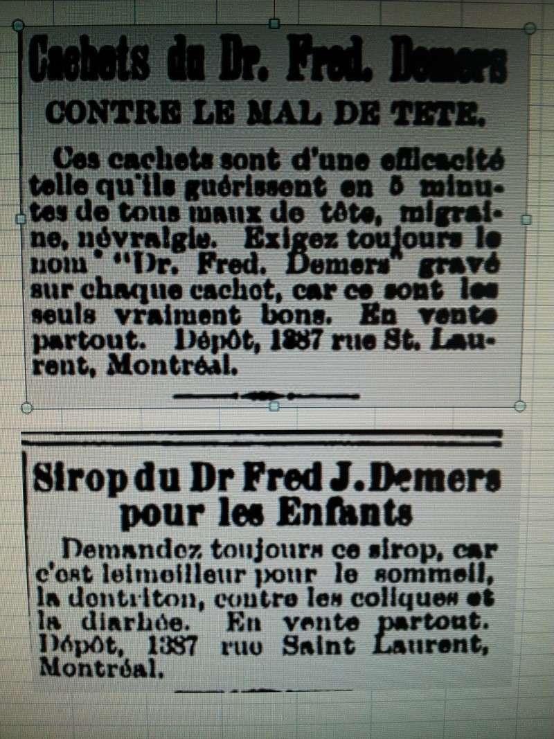 Sirop du Dr Fred Demers pour les enfants 01110