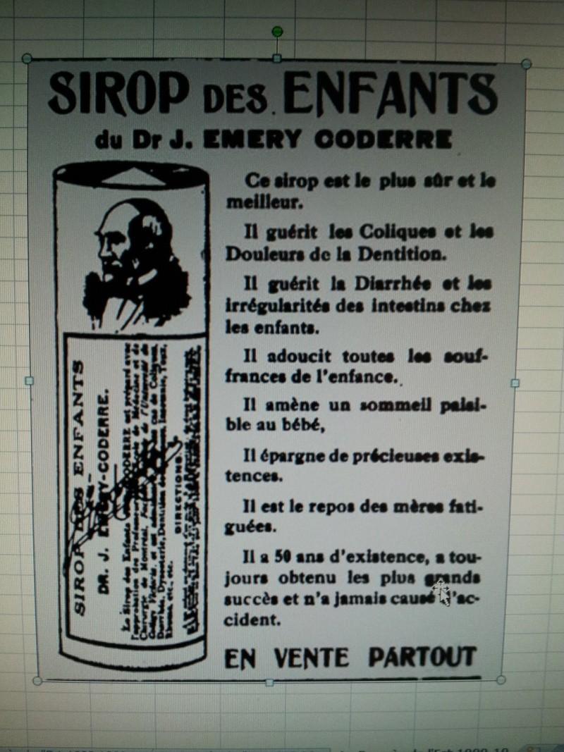 Sirop des enfants du Dr. Coderre 01310