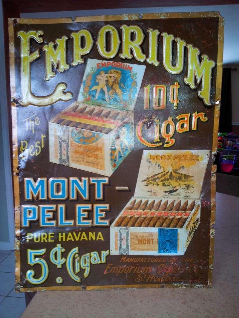 Annonce de cigare Emporium  01912