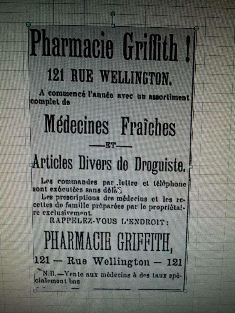 W.H. Griffith Chemist Sherbrooke, P.Q. 02311