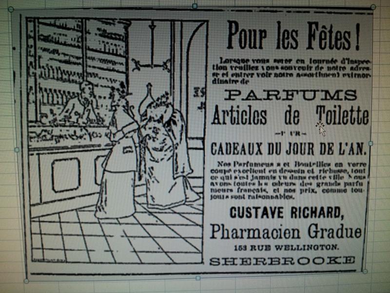 Verre de dosage Gustave Richard Pharmacien Sherbrooke 02710