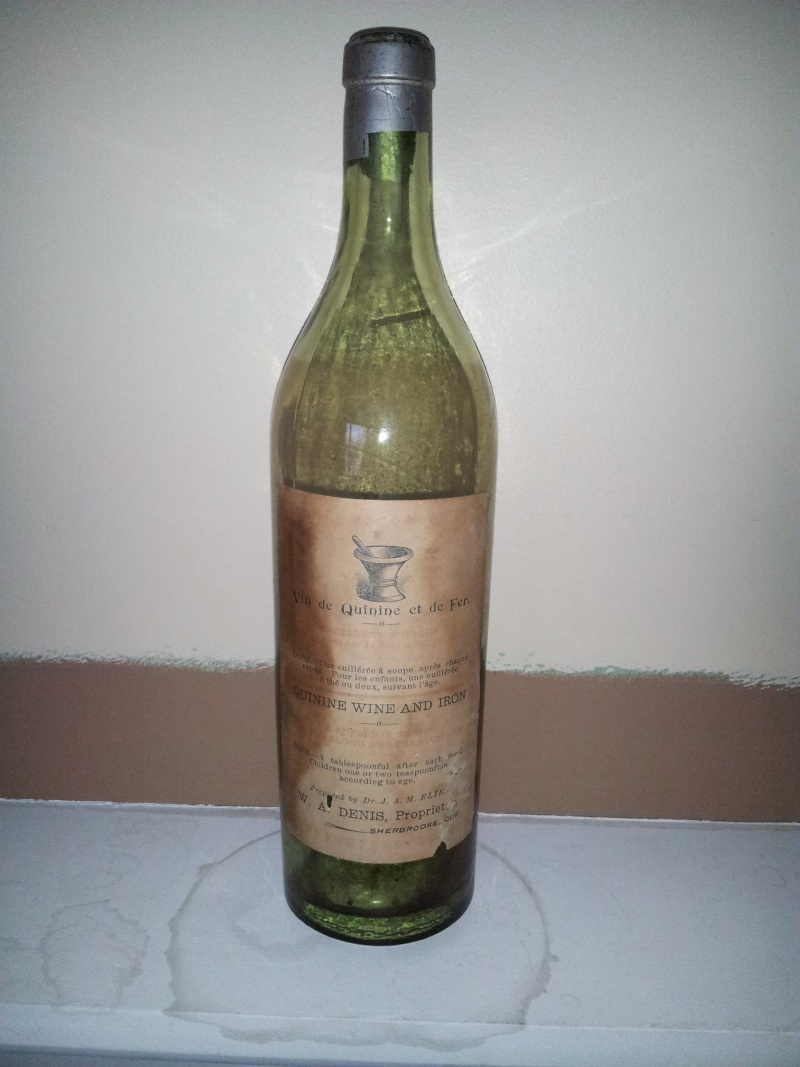 Vin de Quinine et de Fer du Dr. J.A.M. ELIE de Sherbrooke 05110