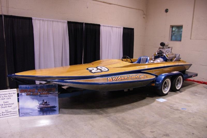 Bateaux vintages, customs & dragsters, Drag & custom boat  01281028