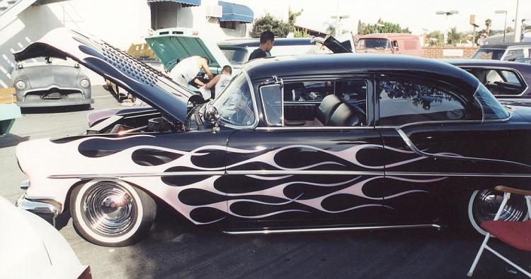 Oldsmobile 1955 - 1956 - 1957 custom & mild custom 015-vi10