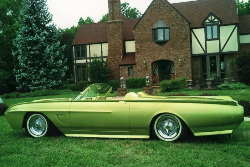 Ford Thunderbird 1961 - 1963 custom & mild custom 0723-110