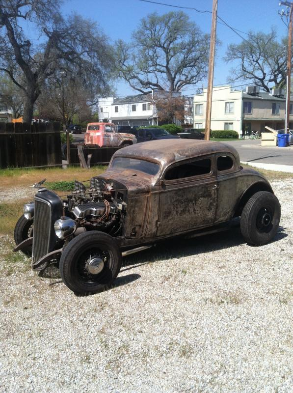 1930's Chevy hot rod 115610