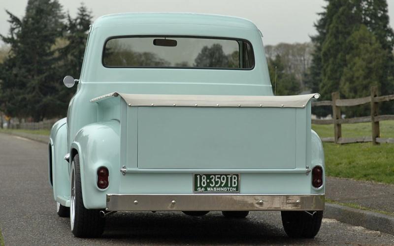 Ford Pick Up 1953 - 1956 custom & mild custom 1954-r11