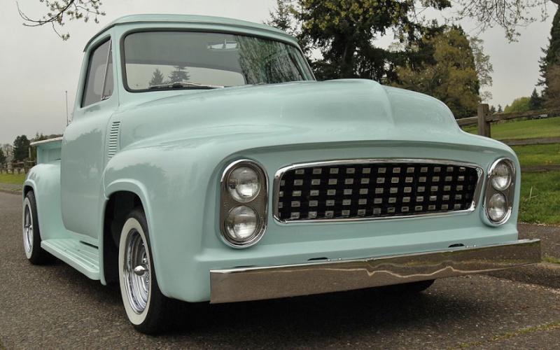 Ford Pick Up 1953 - 1956 custom & mild custom 1954-r14