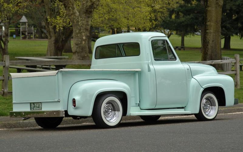 Ford Pick Up 1953 - 1956 custom & mild custom 1954-r15