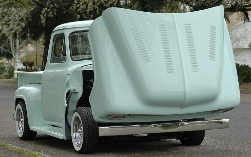 Ford Pick Up 1953 - 1956 custom & mild custom 1954-r21
