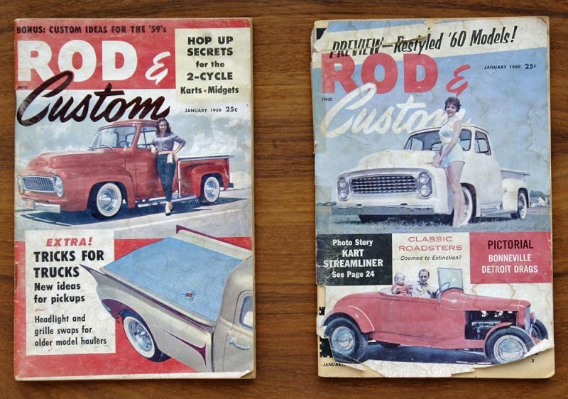 Ford Pick Up 1953 - 1956 custom & mild custom 1954-r22