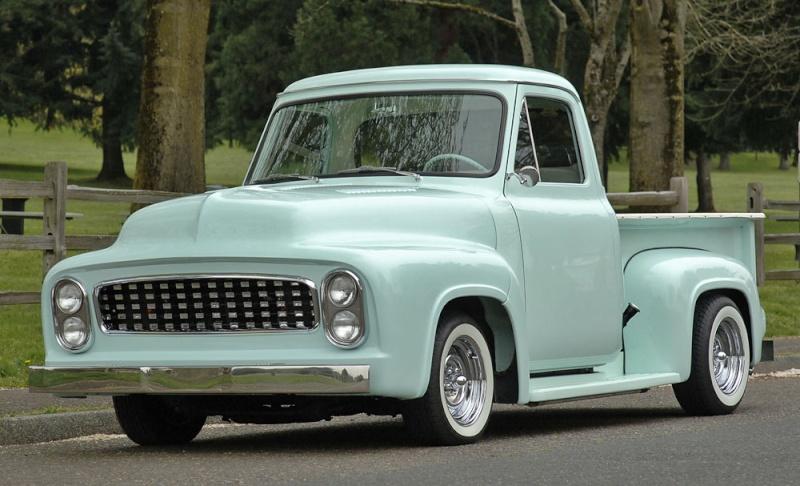 Ford Pick Up 1953 - 1956 custom & mild custom 1954-r23