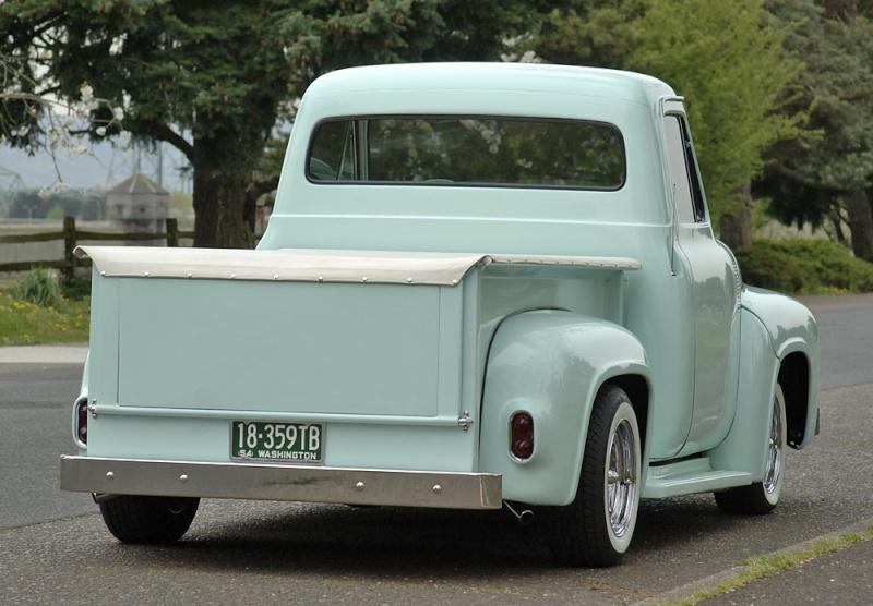 Ford Pick Up 1953 - 1956 custom & mild custom 1954-r25