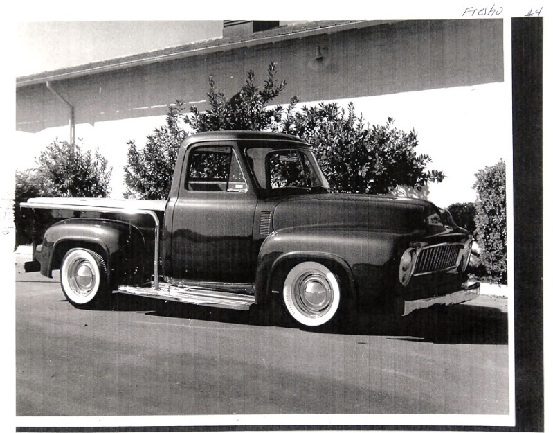 Ford Pick Up 1953 - 1956 custom & mild custom 1954-r26