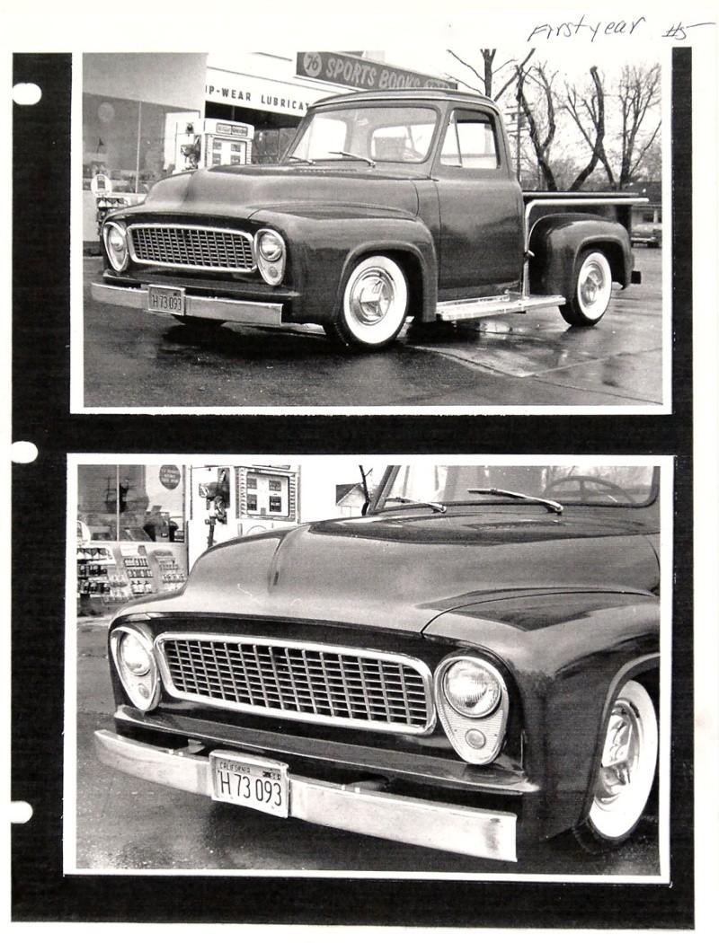 Ford Pick Up 1953 - 1956 custom & mild custom 1954-r29