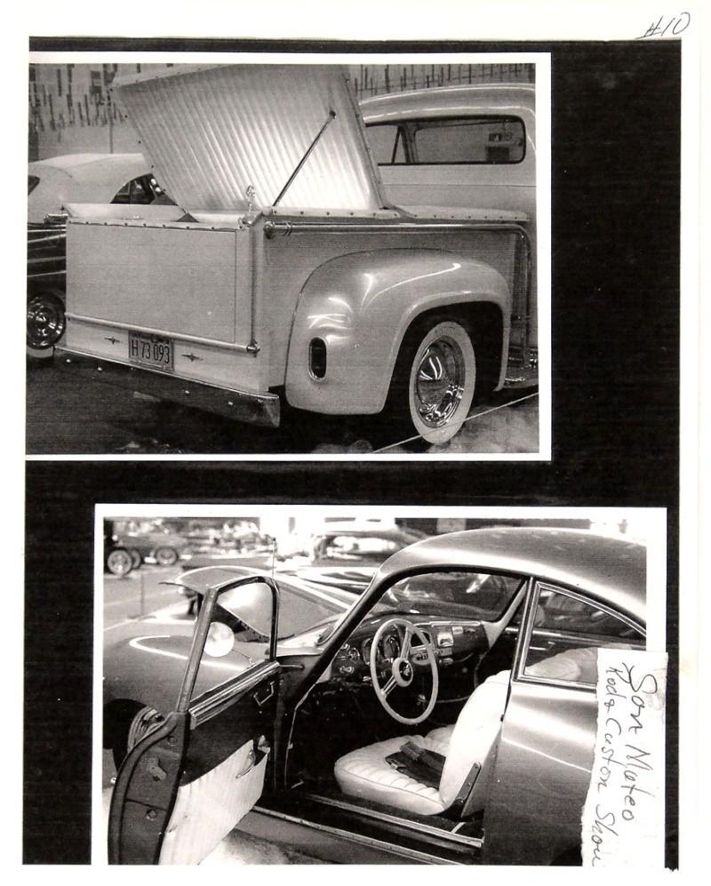 Ford Pick Up 1953 - 1956 custom & mild custom 1954-r32